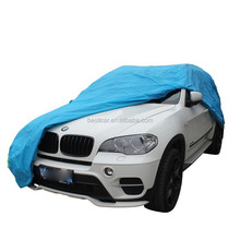 Cotton Lining Car Cover with Steel Cable and Lock SUV Cover