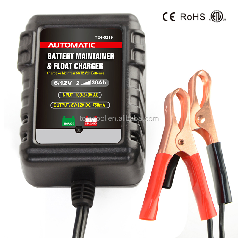 12V/6V universal Intelligent Car Motorcycle Battery Charger maintainer portable smart auto lead acid battery float charger