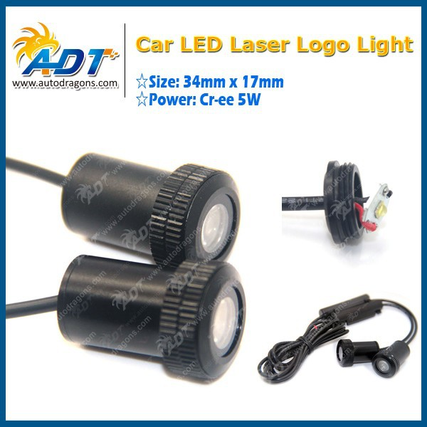 New MINI LED Car Door Logo Laser Projector Light For Any Logo