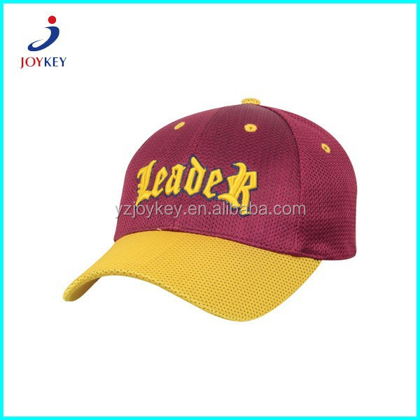 hot sale 3D ebmroidery custom all mesh basebal cap