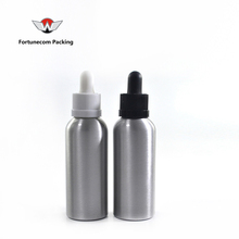 aluminium bottle 60ml with white black dropper 60 ml aluminium dropper bottles in stock