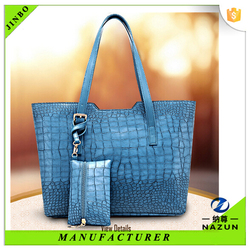 china wholesale 3 piece leather African lady bag for sale