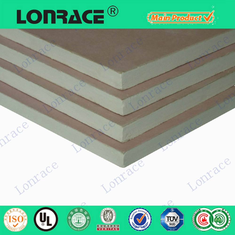 gypsum board thermal properties