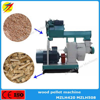 High quality waste wood biomass straw pellet production machine for burning