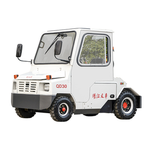 Electric towing tractor FOR CARGO LUGGAGE AIRPORT