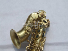 SS-DB vintage bronze curved soprano saxophone from china supplier