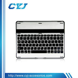 2014 High quality bluetooth keyboard for ipad 2 3 4 with aluminum made