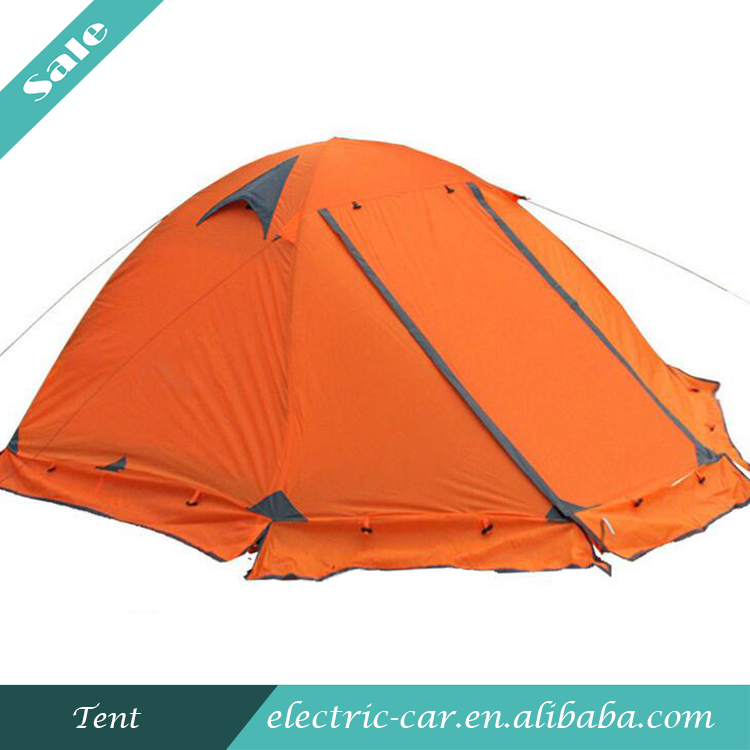 Camping Tent Waterproof Double-Layer Custom Outdoor Folding Tent