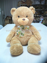Cute Stuffed Plush Teddy Bear, Custom Bear With Ribbon And Clothes,LED plush toy