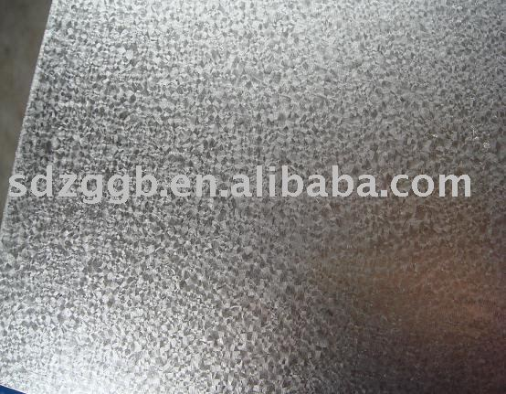Hot dipped galvalume steel sheet