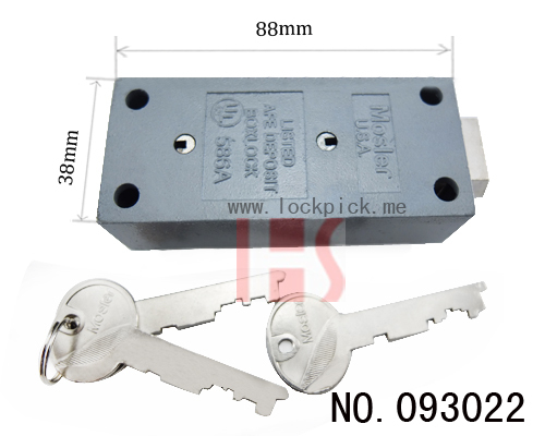 Lock Pick Set for jiade 5 Turns Swing Bolt Lock 071135