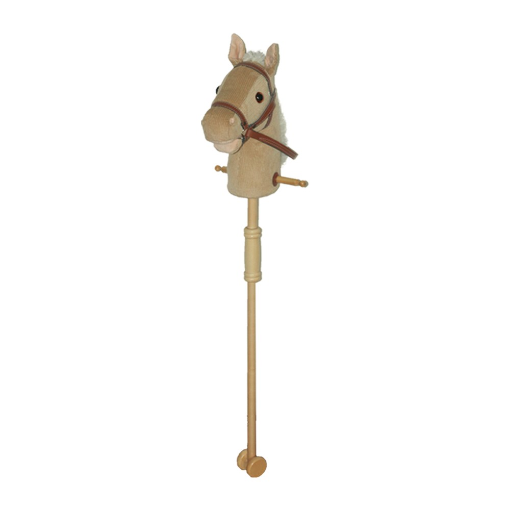 Wholesale Happy Funny Hobby Head Musical Kids Plush Stick Horse Toy