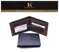 Wholesale Classic Business Men PU Leather Wallet