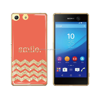 Free sample custom print design gel cell phone case for sony xperia mini st15i