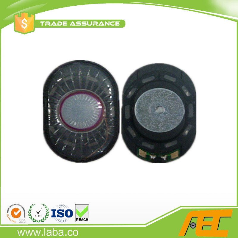 Good voice quality 2030mm 1W mini dynamic oval speaker driver