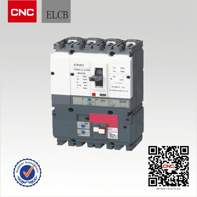 Moudled case YCM3LE adjustable mould case circuit breaker