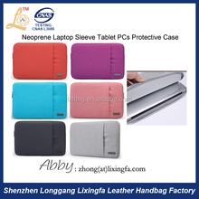 Hot Product Pouch Cover Exterior Zipper Pocket Laptop Sleeve OEM