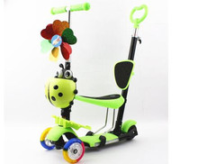 manufacture Aluminum alloy folding 3 Wheels Cheap Kid Kick Scooter