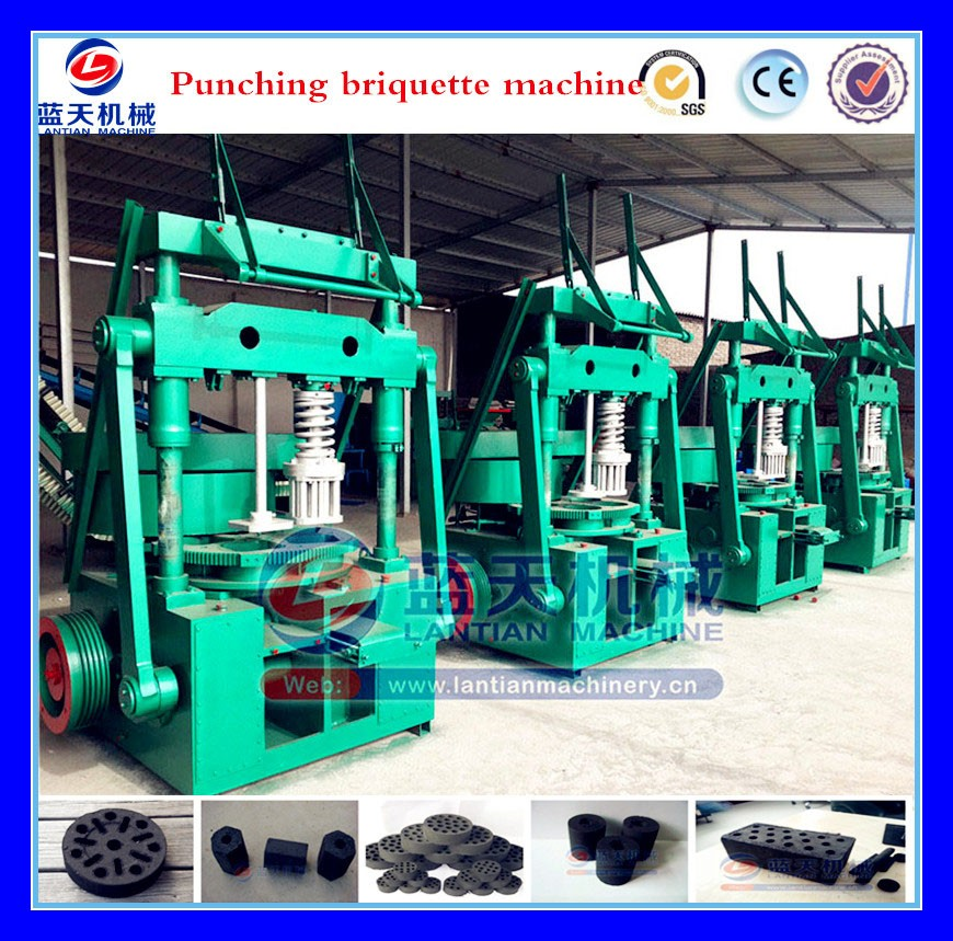 30 years Good Performance High Efficiency Eggette Briquette Making Machine/honeycomb Coal Ball Shaping Machine
