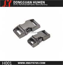 wholesale side release buckle ,metal side release buckle,metal bag buckle