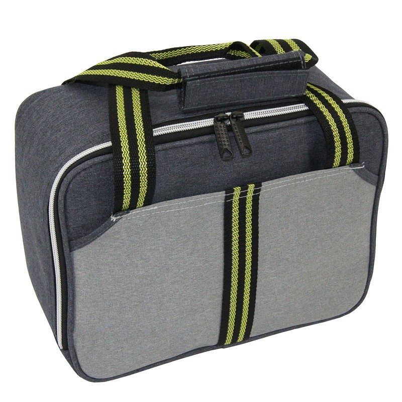 Customized polyester thermal lunch bag insulated travel cooler bag