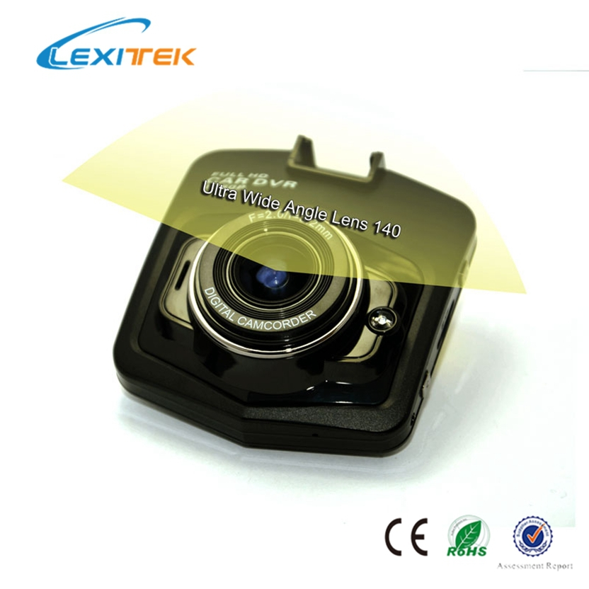 Lexitek D02H Thanks Giving and Christmas Gift High Definition Car DVR for Drivers aka Car Balck Box