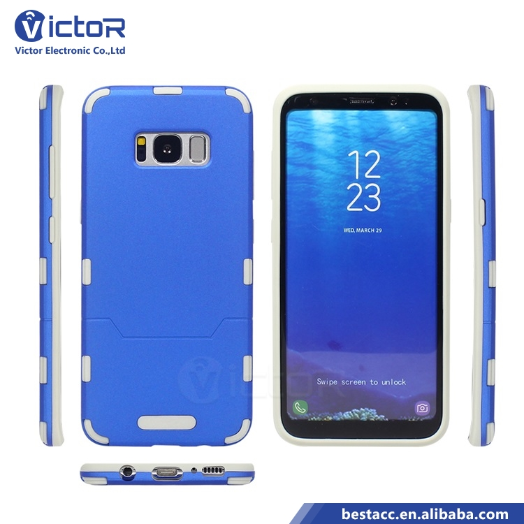 China Supplier Hard PC with Soft TPU Edge for S8 Phone Case Cover Many Color Available