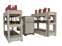 High frequency wood bending machine