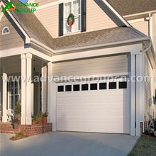 Water-proof insulated golf cart garage door