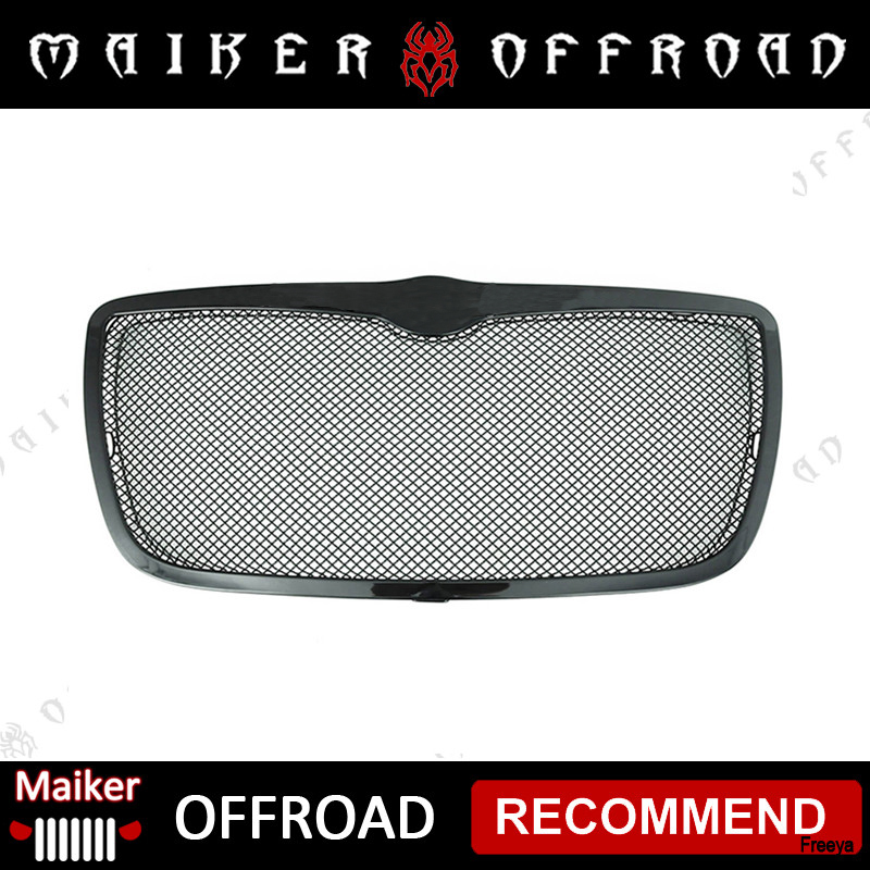 Stainless Steel Wire Mesh Packaged Grille for 05-10 Chrysler 300C