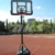 Moveable Waterflood Steel Basketball Stand For Indoor And Outdoor