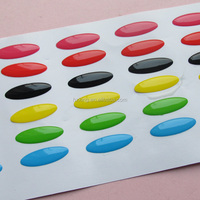 Promotional Gifts Use and Decorative Sticker Style clear crystal epoxy stickers