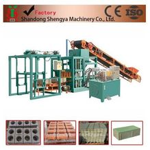 Vedio in Youtube Shengya Brand hydraulic automatic block machine production line