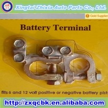 Hottest car battery terminal types/brass copper battery terminal insulation terminal