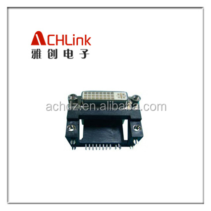 display port female to DVI Connector 24+5 High PIN Female ACHLINK Manufacturer