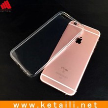 Clear plastic cell phone case, transparent phone case mobile phone cover for iphone 6 6s