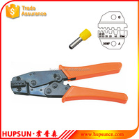 HS-06WFL 0.25-6mm2 insulated and non-insulated ferrues cable lug crimping tool