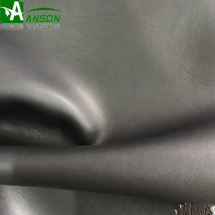 Eco friendly Durable 60% pu 40%rayon synthetic leather fabric