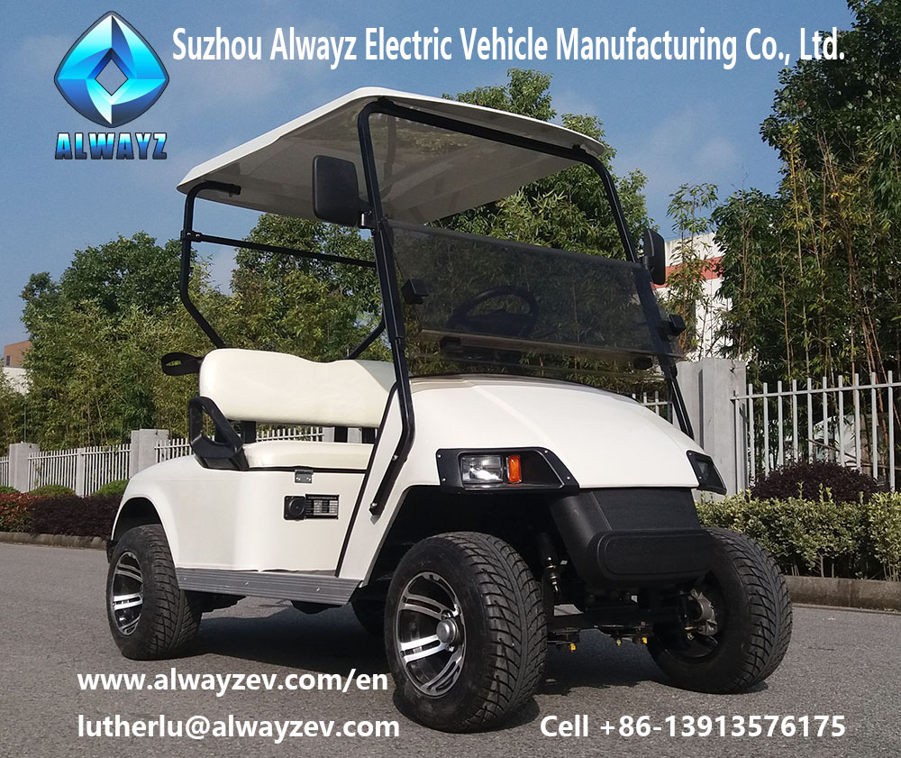 Golf buggy, electric