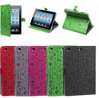 New Arrival Cute PU Leather Smart Case Cover Stand For Apple iPad Mini 7.9 Tablet