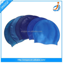 Fashion Waterproof /Durable/ Elastic /Non-Wrinkle Sporty Rubber Custom Silicone swimming cap