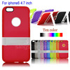 For iphone 6 case frosted soft TPU silicone stand phone accessory for iphone 6 case