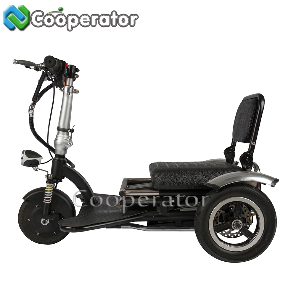 48V*12AH Mini Folding Electric Tricycle Adults for sale, Electric Tricycle Pedal Assisted, Adult Electric Motorcycle
