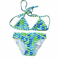 mermaid kid swimwear/bikini