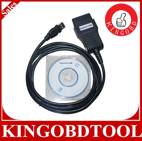 [With fast delivery]Hot Selling Super Function car cables super toyota k +can commander 2.0 diagnostic cable tool