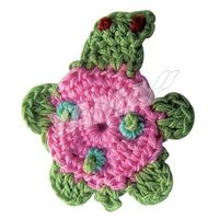 New style cute decoration hand crocheted craft
