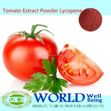 Hot Sell Lycopene 2%-98% Tomato Extract/Green Tomato Extract Lycopene/Tomato Extract Powder