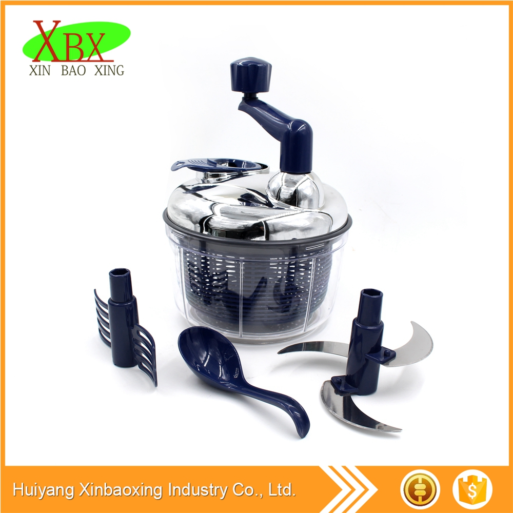 Good quality Quick salad spinner and chopper