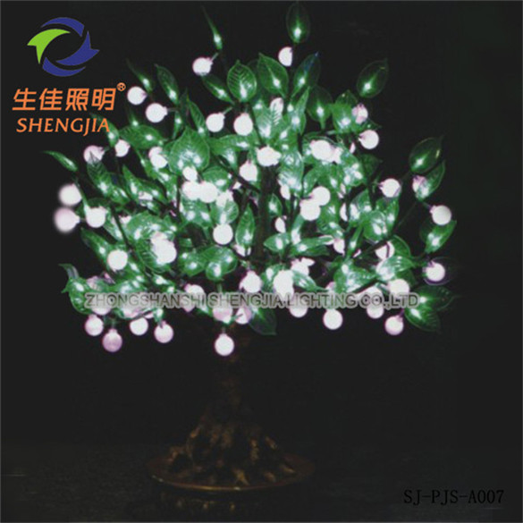 Shengjia QTY Of LEDs 168PCS LED Bonsai TREE white summer tree decoration