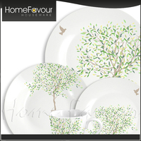 Trustworthy Factory Promotional Hotelware Porcelain Round Table Ware